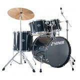 SONOR Drum Kit Smart Force Stage 1 - Black - Drum Kit
